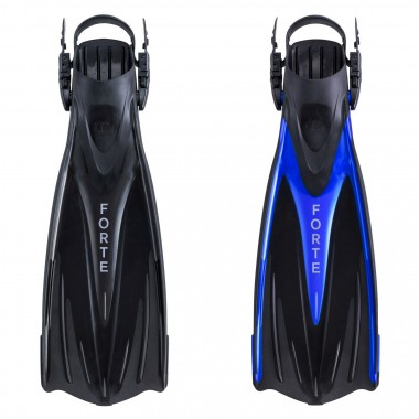 EVO Forte Angled-Blade Open-Heel Dive Fins