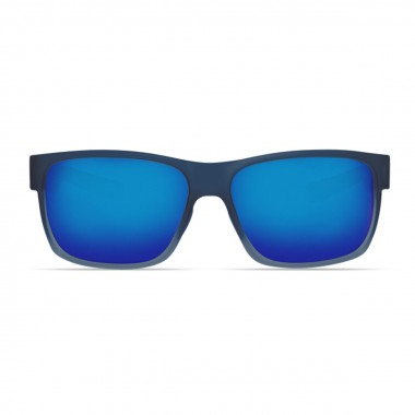9f22f75830d Costa Half Moon 580 Polarized Polycarbonate Sunglasses - Bahama Blue Fade   Blue  Mirror - Divers Direct