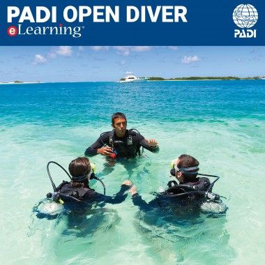 PADI Open Water eLearning® Online Certification Pak - Classroom ...