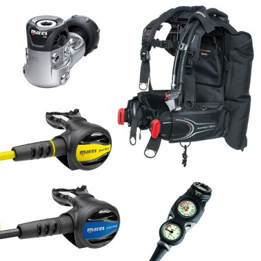 Mares Journey Elite Scuba Gear Package