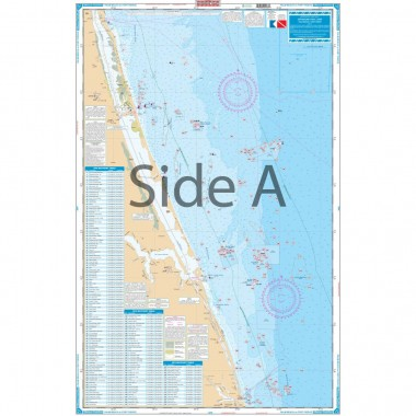 Palm Beach to Fort Pierce Fishing Chart