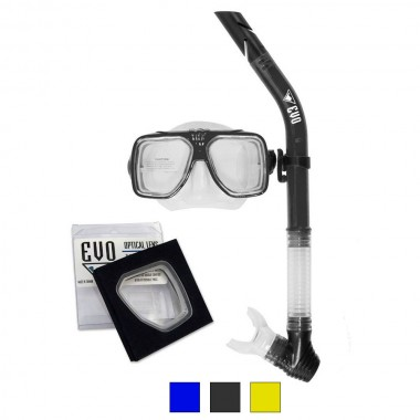 EVO Drift Prescription Mask and Snorkel Combo