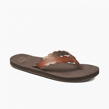 Reef Cushion Celine Sandals (Women's) - Rust