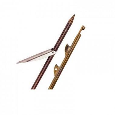 Riffe Speargun Shaft 57 X 9/32 Inches w/1 Inch Flopper