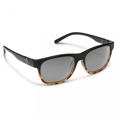 1b015c155e Suncloud Scene Polarized Polycarbonate Sunglasses - Black Tortoise  Fade Gray - Divers Direct