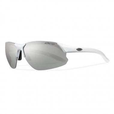 Smith Parallel D Max Sunglasses with White Frames and Polarized ...