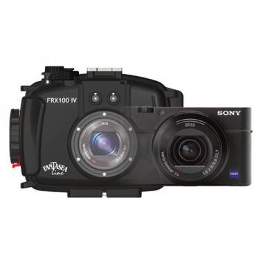 Fantasea Sony RX100 IV Camera with Underwater Housing