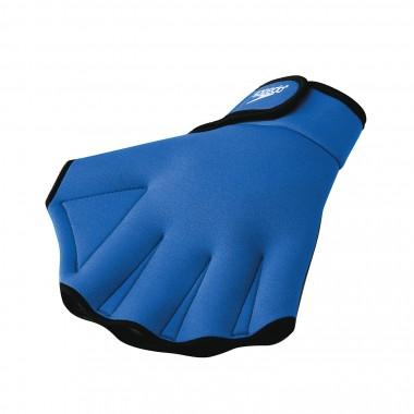 aqua fitness glove blue