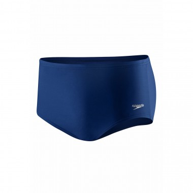 Speedo Mens Solid 5 Inch Brief Navy - Front