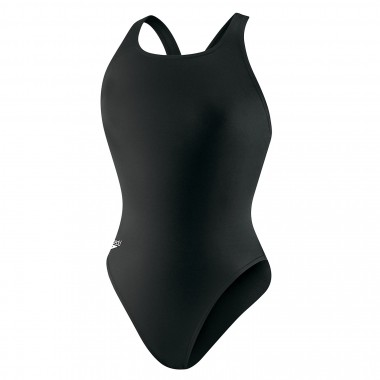 Speedo Solid Superpro Women's Suit Black - Front