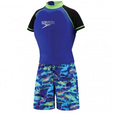 Speedo UV Polywog Suit - Blue