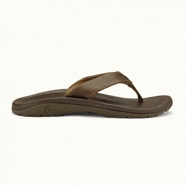 Olukai Kupuna Leather Sandals (Men's)
