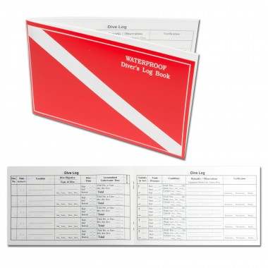Trident Waterproof Dive Log Book