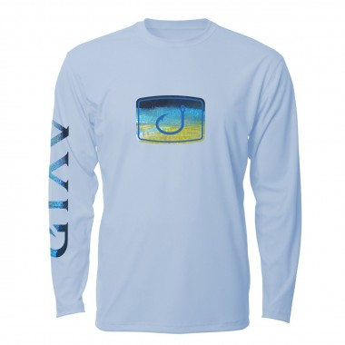 AVID Tuna Fish Fill AVIDry Long Sleeve Sun Shirt 50+UPF