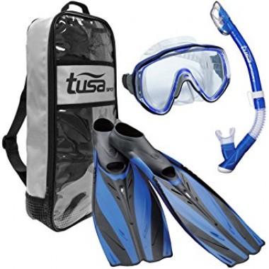 Tusa Visualator Adult Snorkeling Set - Royal Blue
