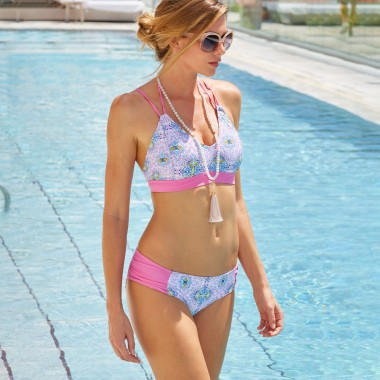 Cabana Life Athletic +50 UPF Bikini Top (Women's)