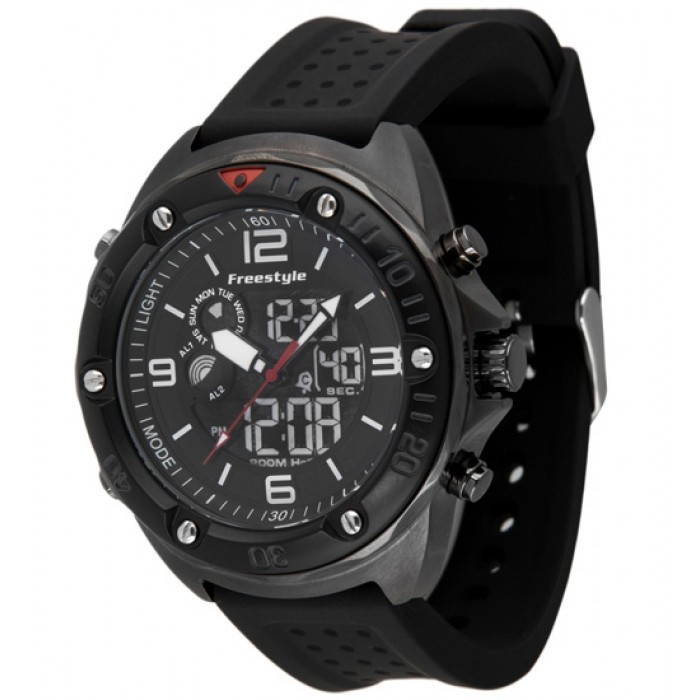 Freestyle Precision 2.0 Digital/Analog Dive Watch - Gun