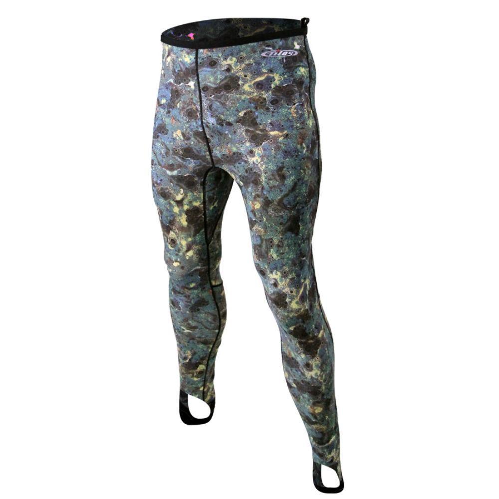 Tilos Brown Camo Lycra Pants