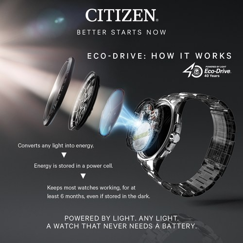 Citizen Eco-Drive DIY Interchangeable Strap Dive Watch