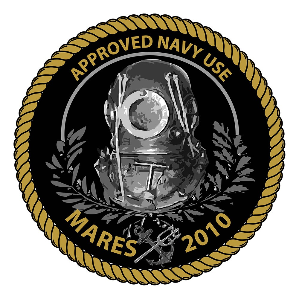 Mares Abyss 22 Navy II Regulator logo