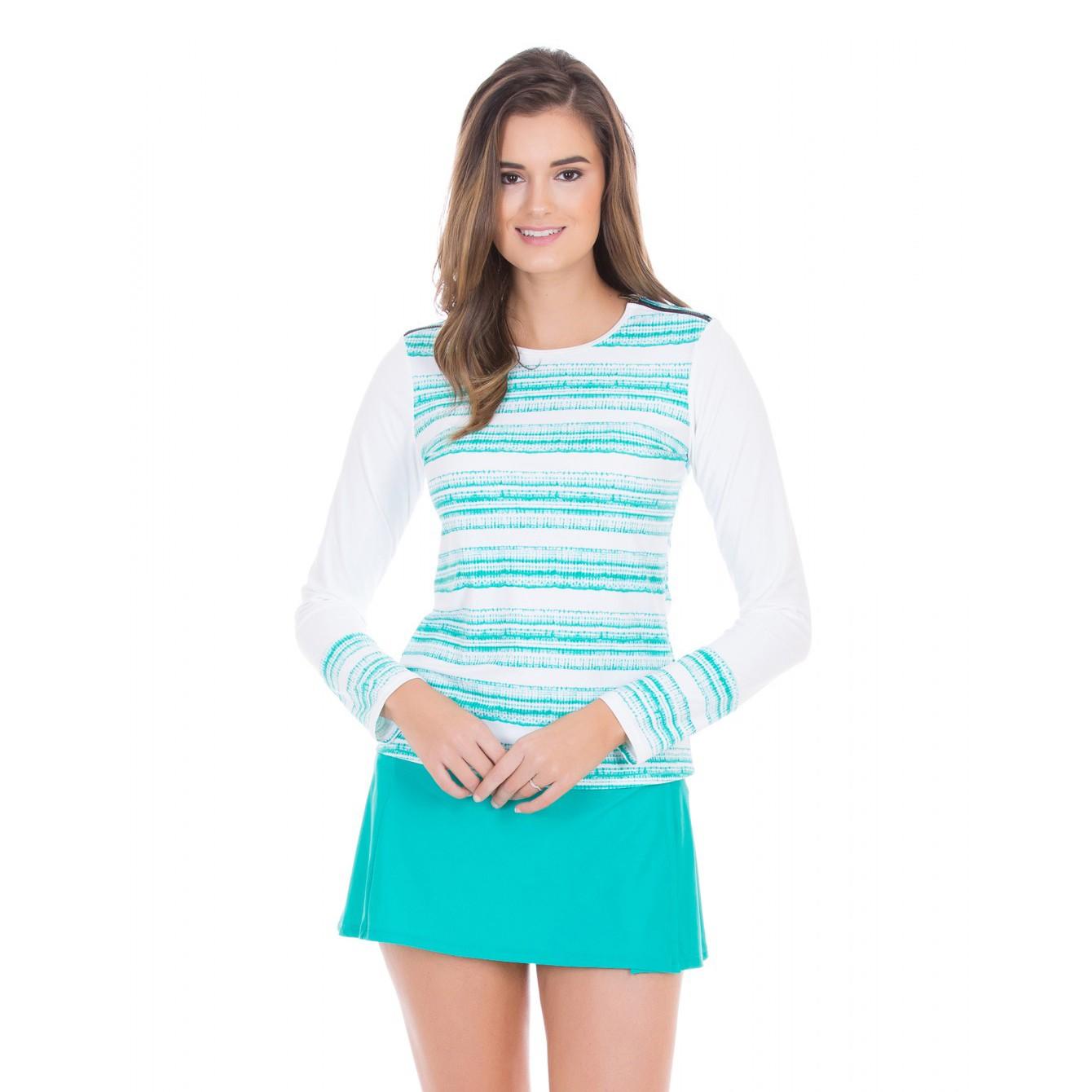 Cabana Life Basics Shoulder Zipper +50 UV Rashguard (Womens)