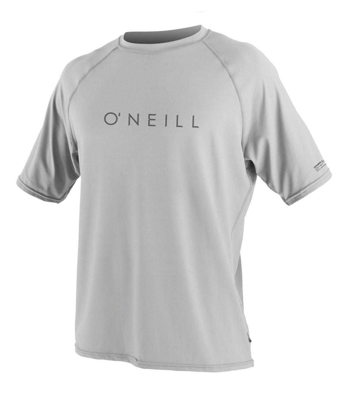oneill men's short sleeve rash guard lunar