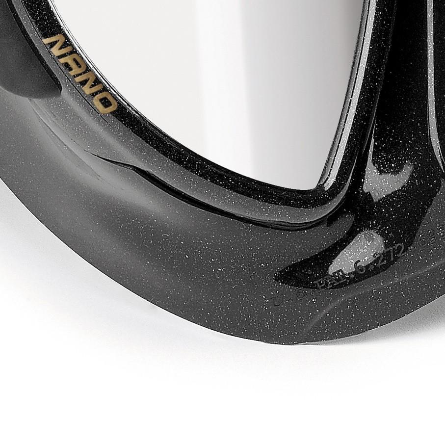 Cressi Nano Black Mask Detail