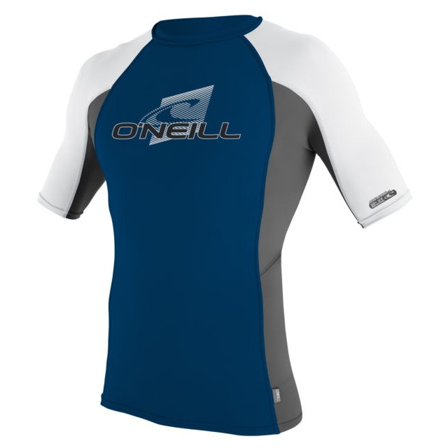 O'Neill Skins Crew 50+ UV Short-Sleeved Rashguard (Men's)