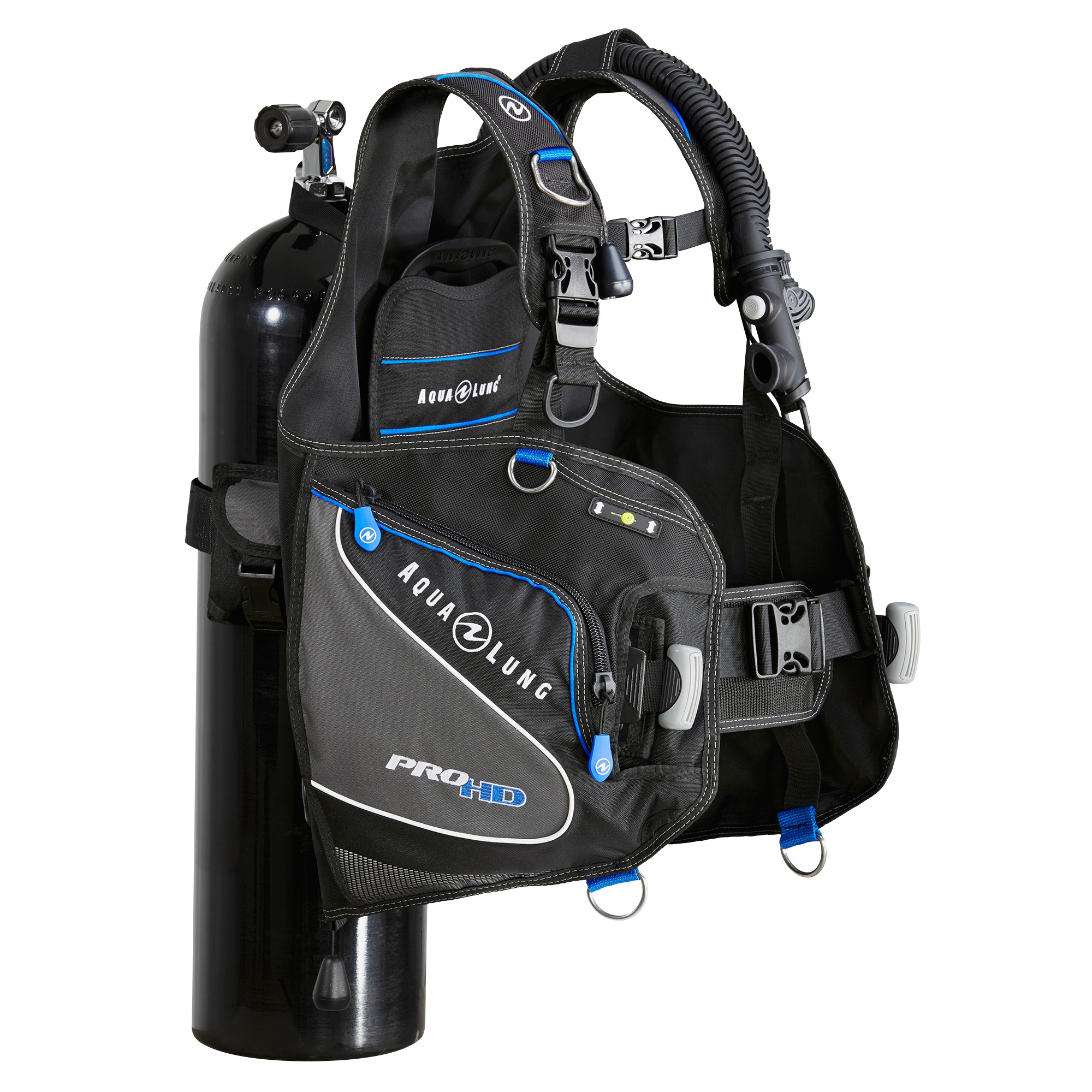Aqua Lung Pro HD Scuba BCD Side 2 Tank