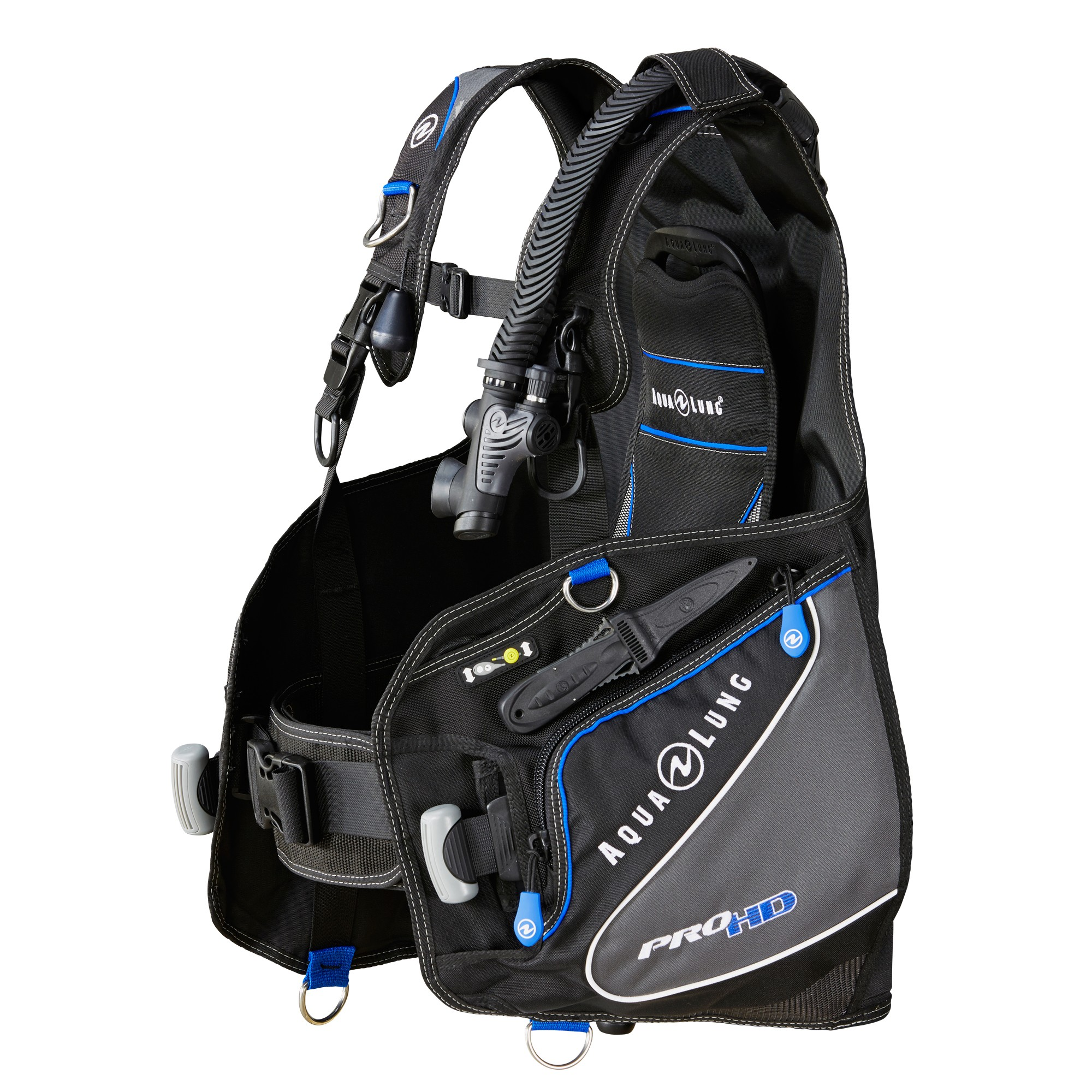 Aqua Lung Pro HD Scuba BCD Side 1