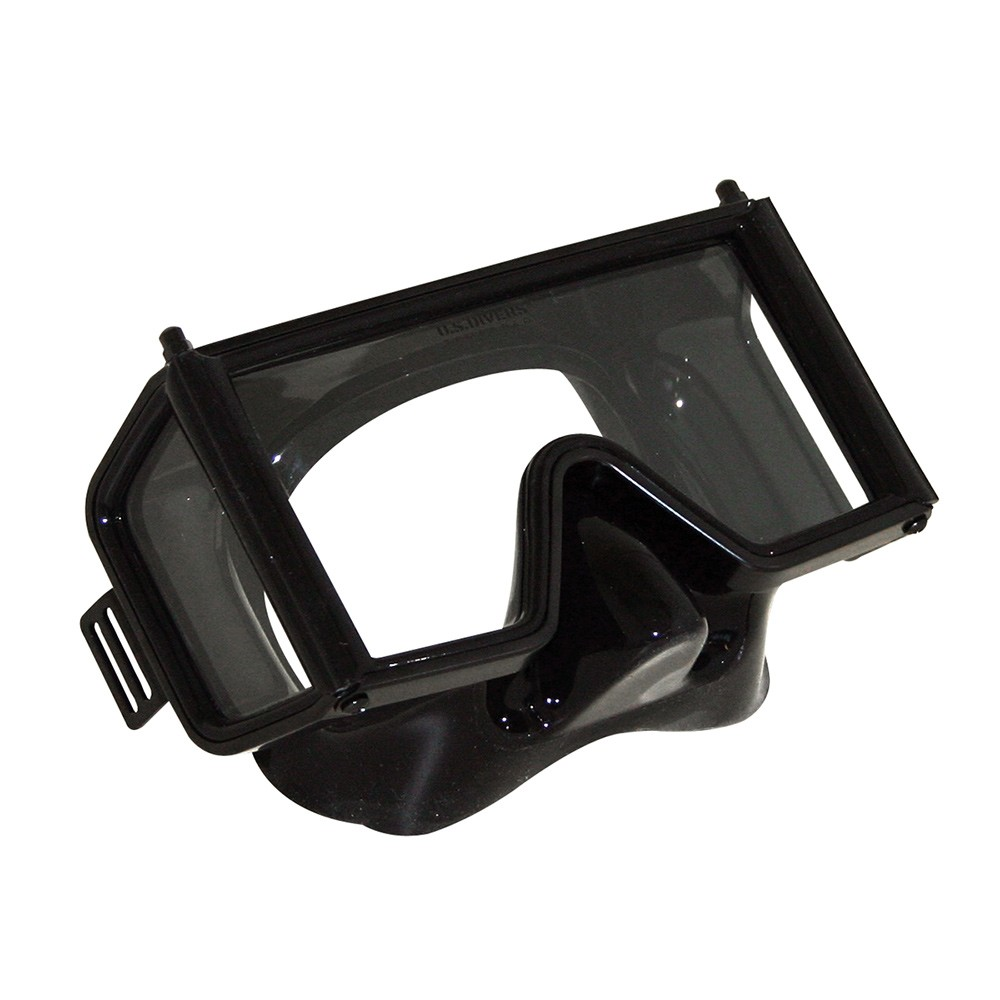 Aqua Lung Wraparound Scuba Mask Side