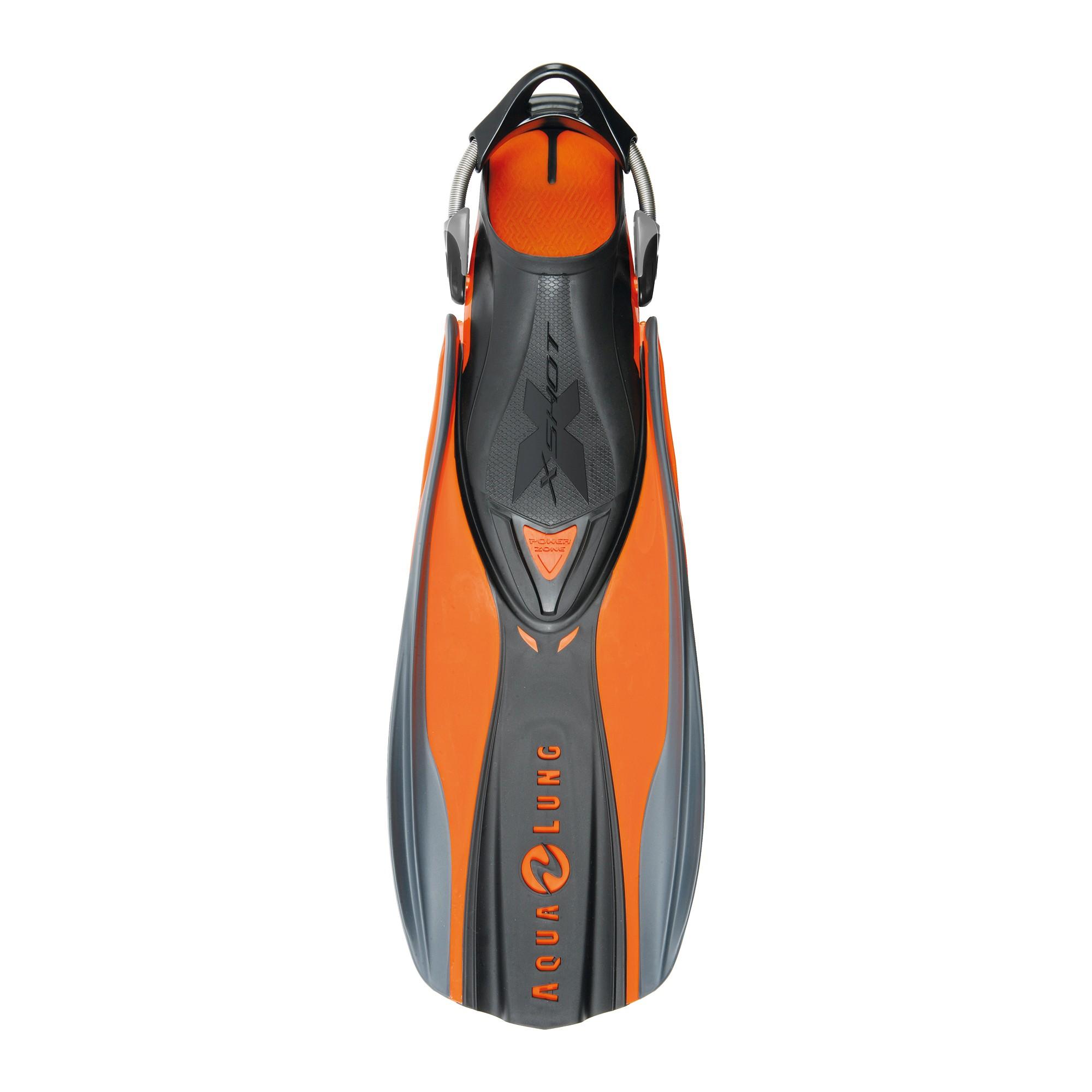 Aqua Lung X Shot Fins - Orange