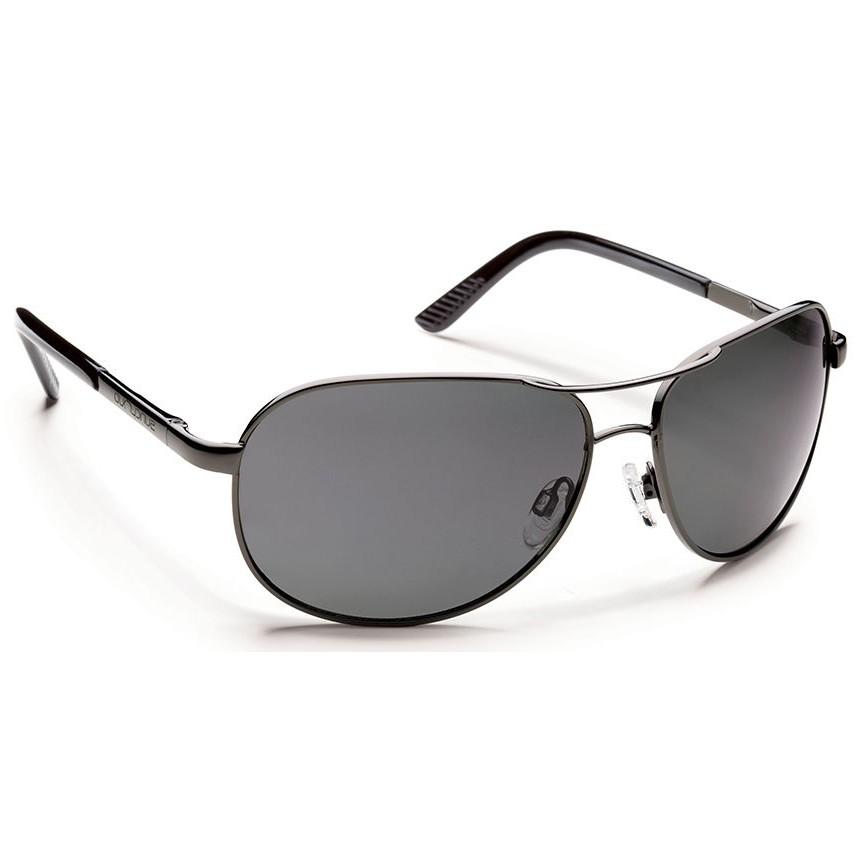 2417bc02c174 Suncloud Aviator Polarized Polycarbonate Sunglasses (Men s) - Gunmetal Gray  - Divers Direct