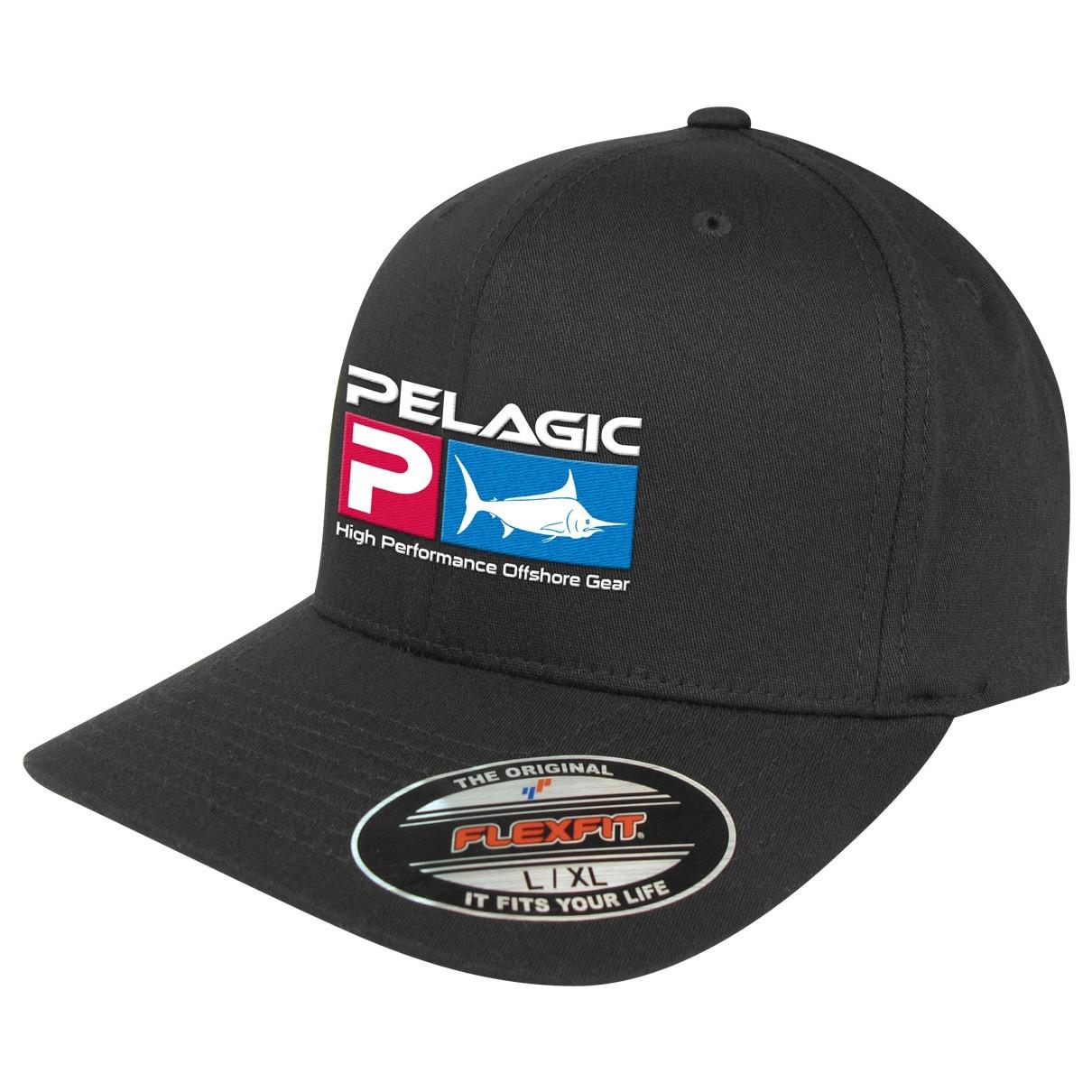 """Pelagic Deluxe Logo """"Flexfit"""" Cap"""