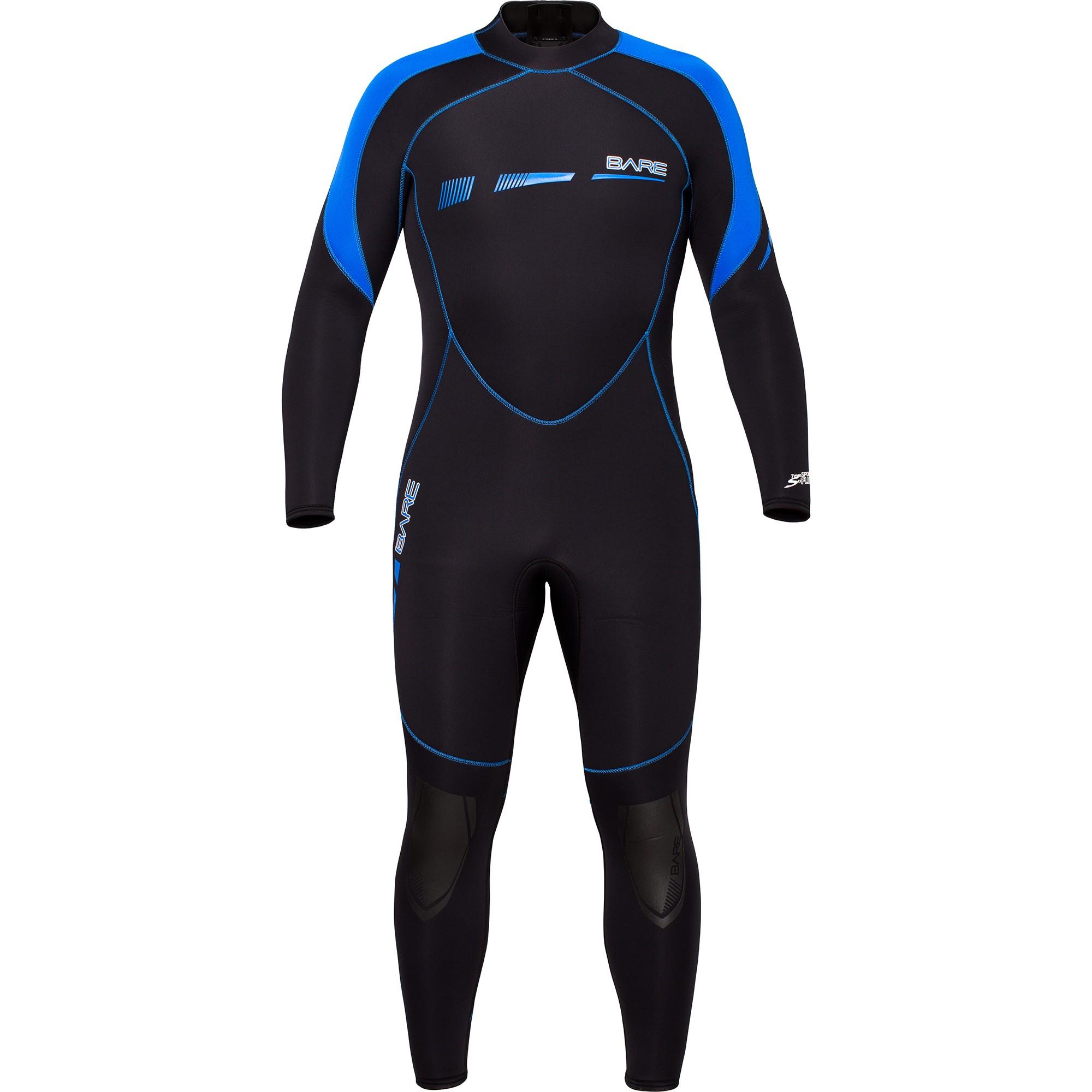 BARE Sport S-Flex 7MM Full Wetsuit