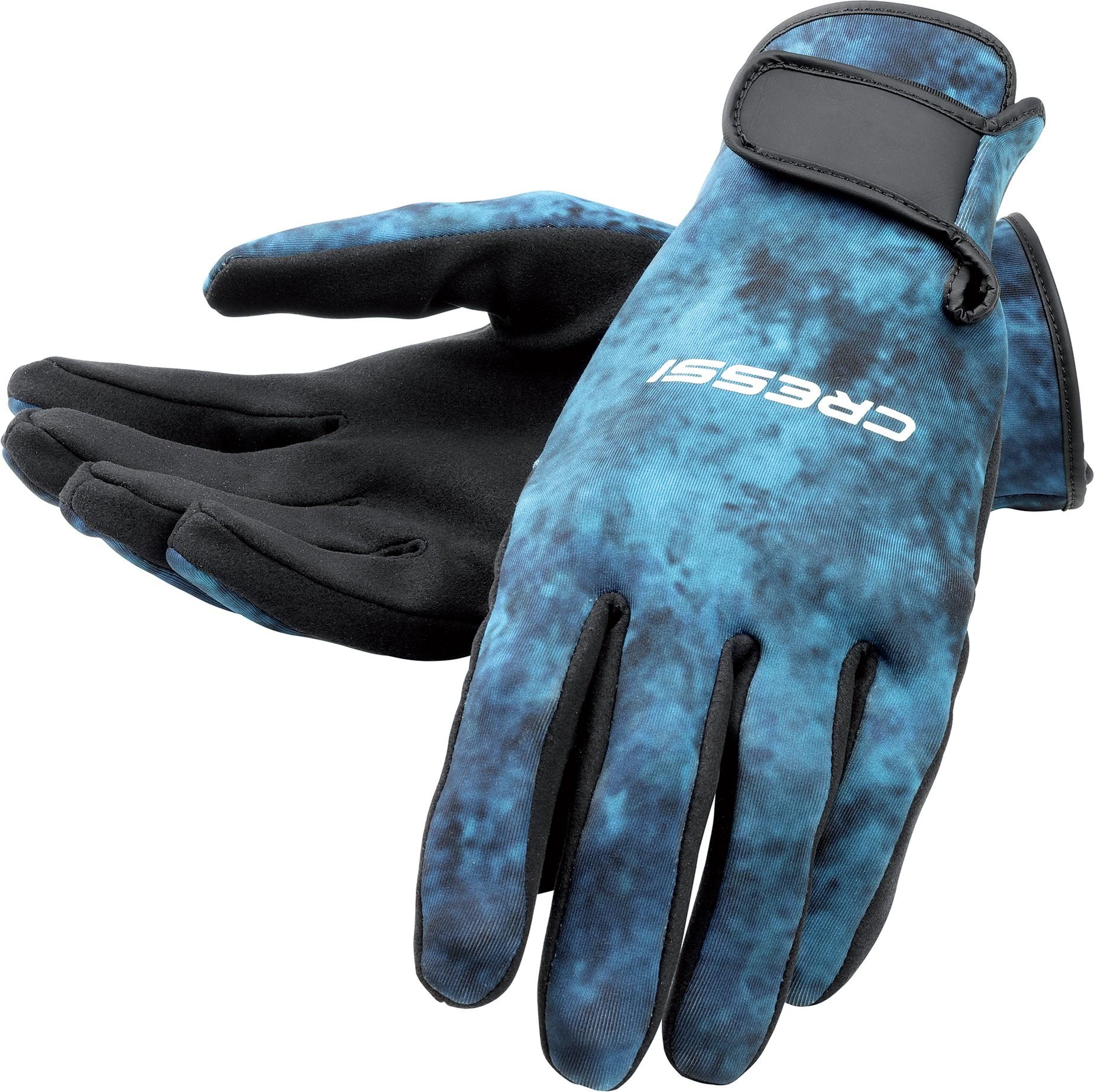 Cressi 2mm Blue Hunter Spearfishing Gloves