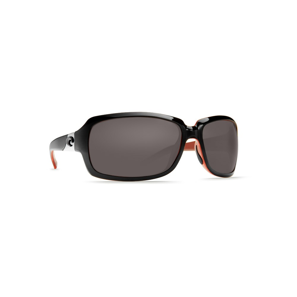 Costa del Mar Isabela Polarized Sunglasses - Black Coral Frames with ...