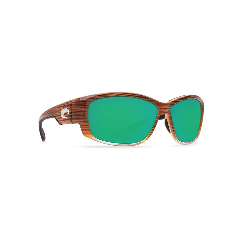 Costa Del Mar Luke Polarized Sunglasses - Wood Fade Frames/ Green ...