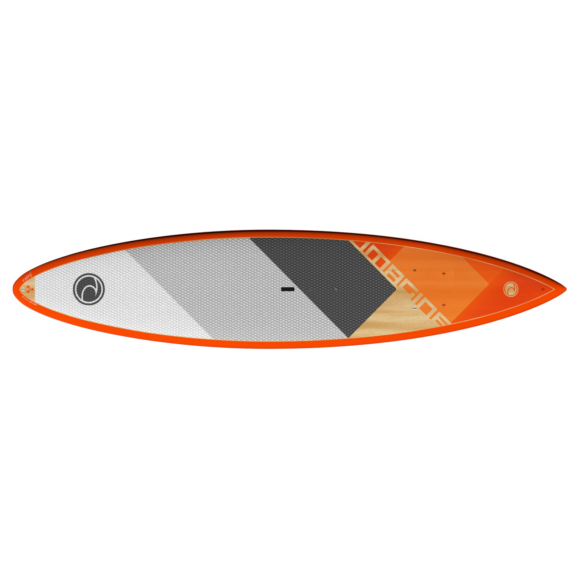 "Imagine Crossover Wood Composite SUP 10'6"", 11', 12'"