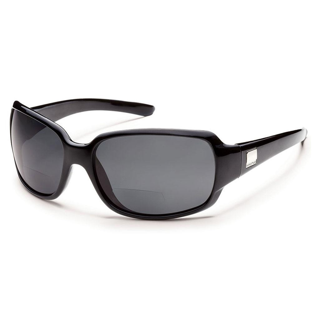 c952dc7d5de Suncloud Cookie Polarized Polycarbonate Sunglasses (Women s) Black Gray  +2.00. Zoom