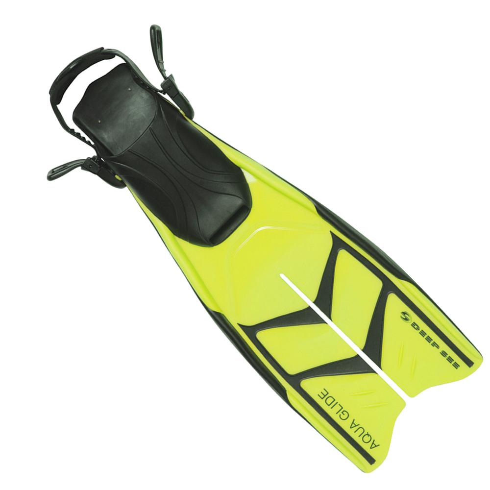 Deep See Aqua Glide Dive Fins Yellow