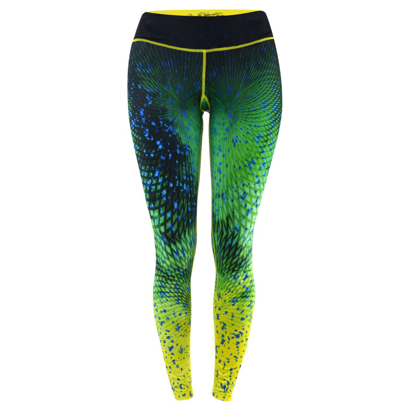 Pelagic Womens Oceanflex Active Legging dorado green