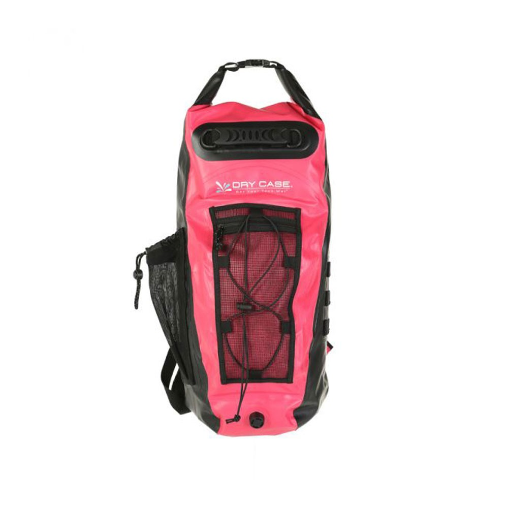 Drycase Basin Waterproof Backpack Pink - Front
