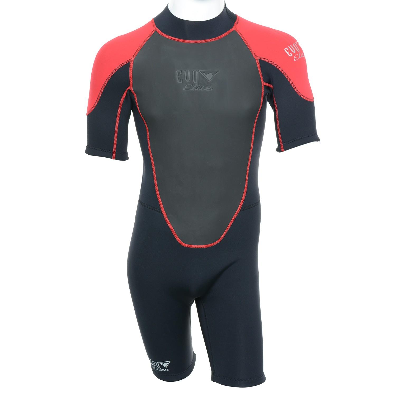 EVO Men`s 3mm Elite Shorty Wetsuit 4