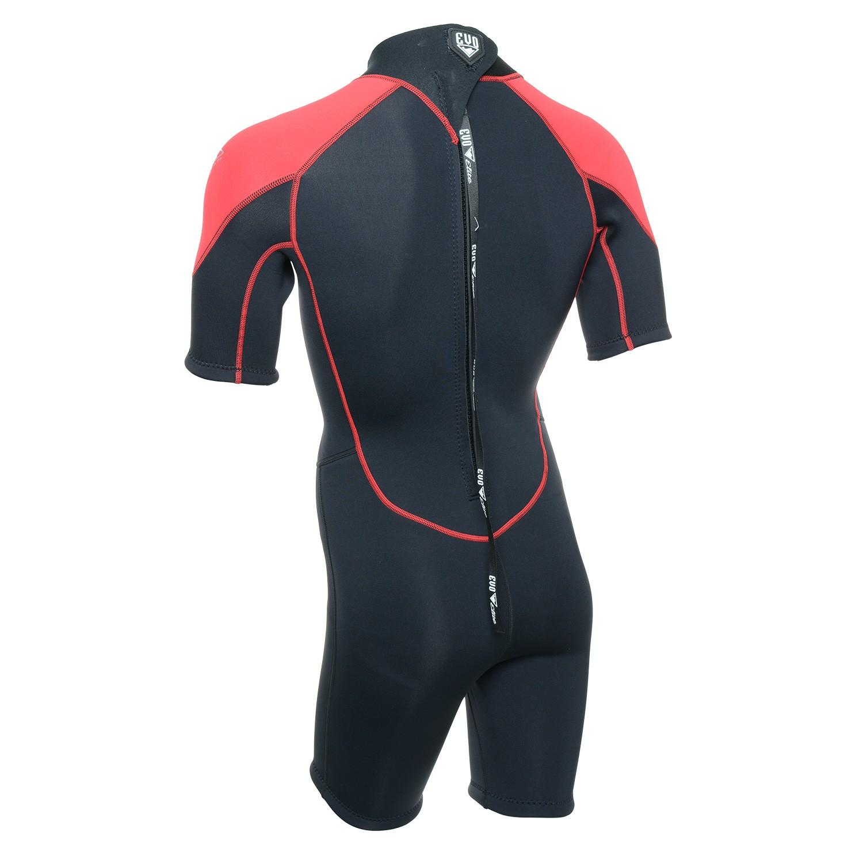 EVO Men`s 3mm Elite Shorty Wetsuit2