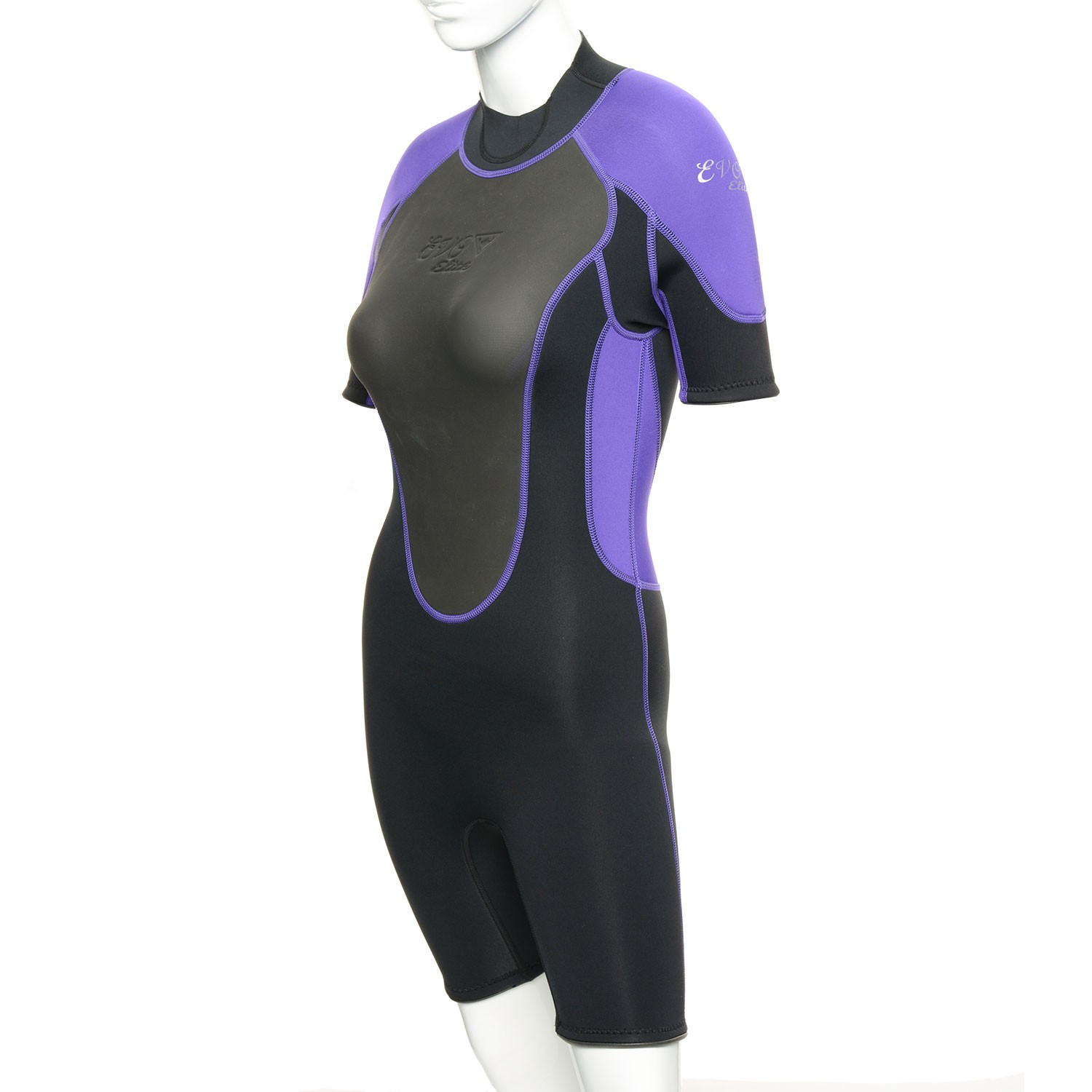 EVO Womens 3mm Elite Shorty Wetsuit 1