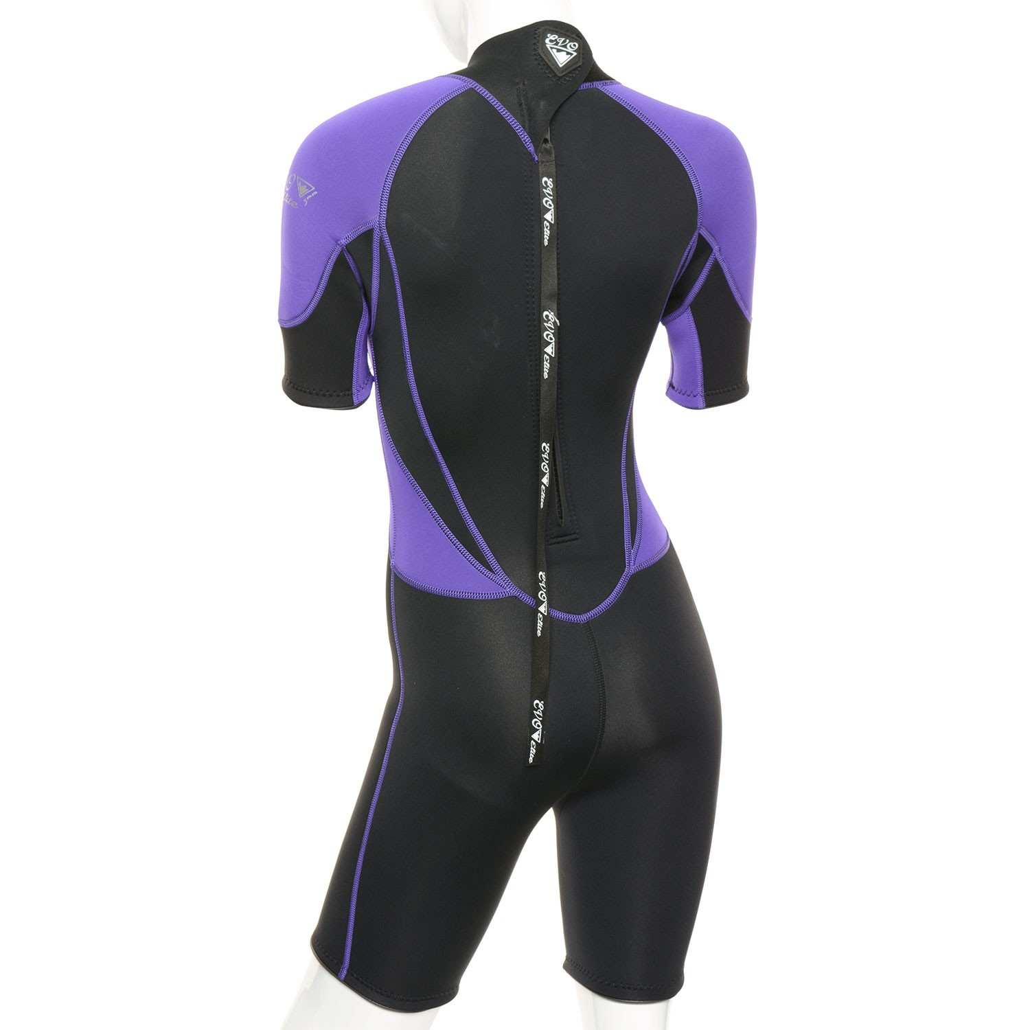 EVO Womens 3mm Elite Shorty Wetsuit 3