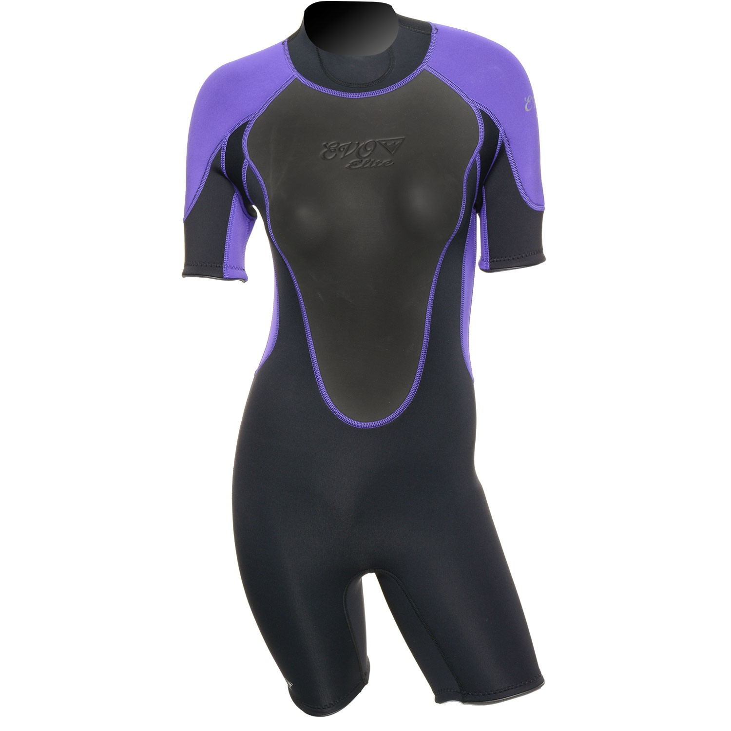 EVO Womens 3mm Elite Shorty Wetsuit 4