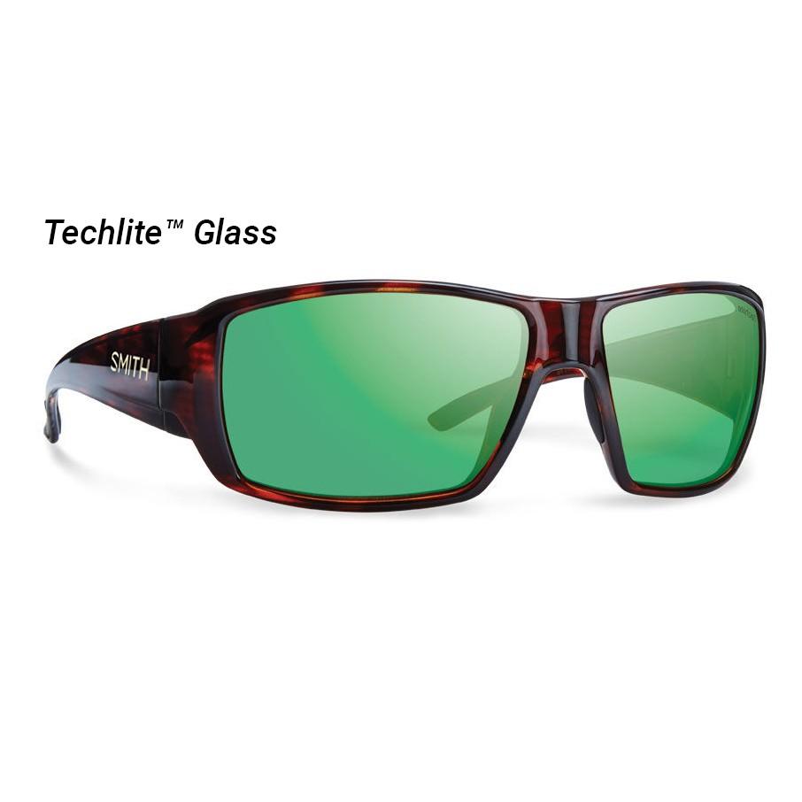 a97b56d6edb Smith Guide s Choice Polarized Techlite Glass Sunglasses (Men s) -  Havana Green Mirror - Divers Direct