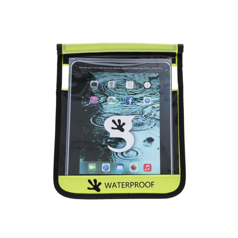Gecko iPad Drybag Green - Front